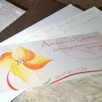 Carte cadeau-massage de bien-être-Caen-aux mains de Caroline