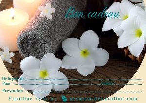 Carte cadeau Aux mains de Caroline, Nouméa